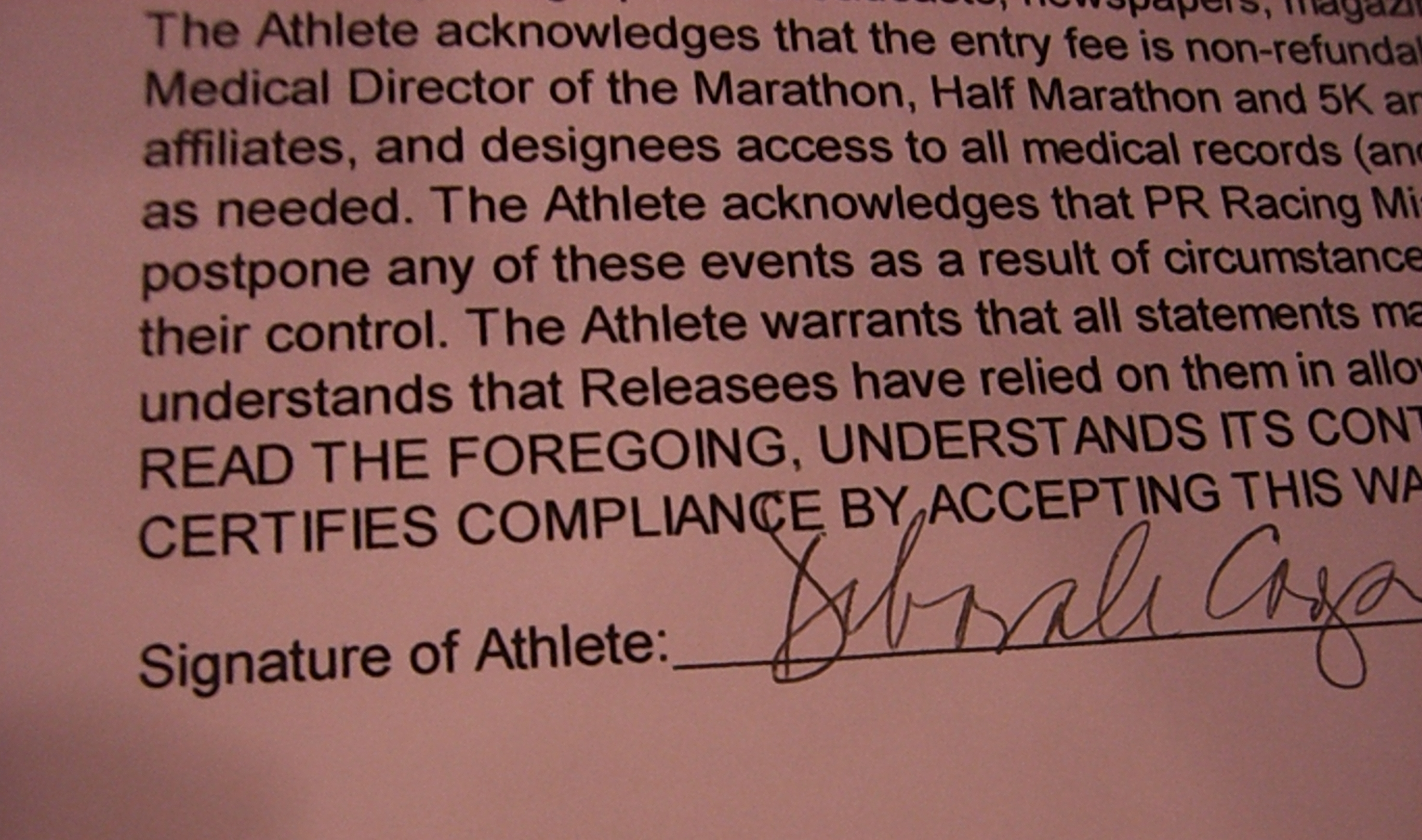 signature of athlete-ish