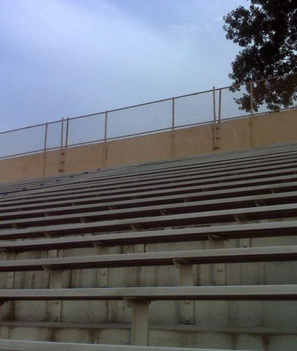 The bleachers cropped